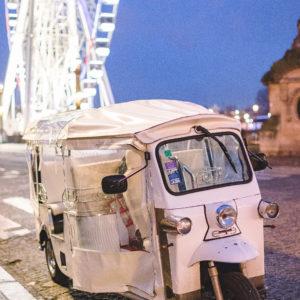 wedding planner, tuktuk