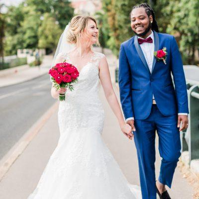 couple marchant | des bulles et des étoiles wedding planner ile de france